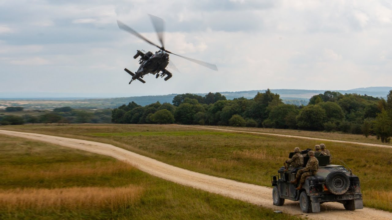 U.S & German Forces • Lead a Multinational Combat Training Exercise • Oct 4 2021, Germany