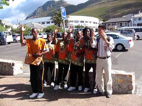 boy band of cape town, south africa