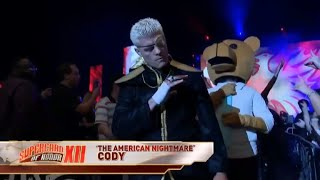 Cody Rhodes Entrance at ROH Supercard of Honor 2018