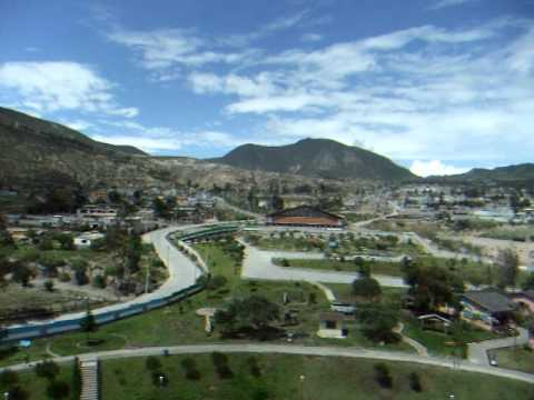 View From Top of Ethnographic Museum At Ecuator – Ciudad Mitad Del Mundo – Ecuador – December 2010