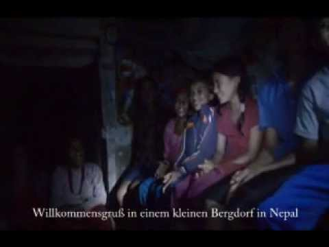 Nepal, Kinder singen