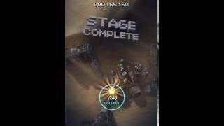 Sky Force Reloaded 2016 - Stage 5 Insane - NO WEAPON - %100 stars  - 1080p