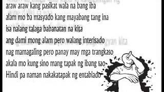 Dami mong alam REMIX -LOONIE(Verse) with Lyrics