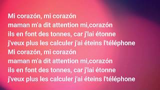 DJ Sem - Mi Corazón ft. Marwa Loud - Lyrics