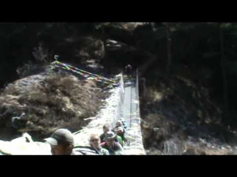 Trekking in the Himalayas part 3; Monjo to Namche Bazar