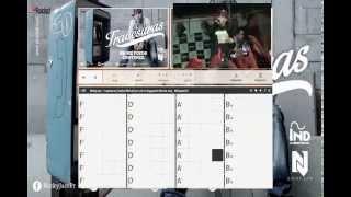 Travesura Nicky Jam En Guitarra acordes en concierto