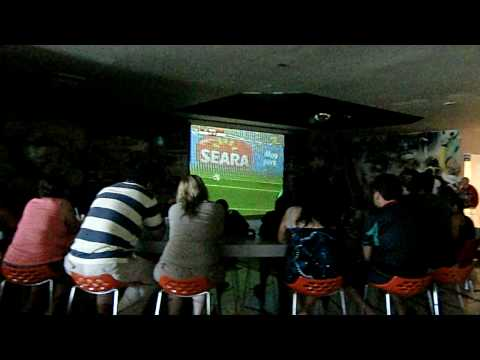 Sportsbar Goal WC 2010 Mexico – France Ocean Coral Puerto Moreles Mexico Italians79 in Yucatan