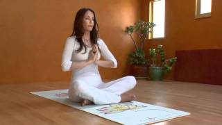Kia Miller teaching 4-4-Breath Meditation