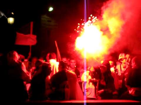 France 34 – World Cup celebration – Road flare fun