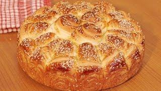 Pogača 'Kornet' - Home made cone bread [Eng Subs]