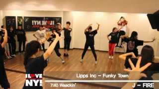 Lipps Inc - Funky Town cover dance choreography by NYDANCE