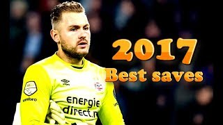 Jeroen Zoet 2017 ● Best Saves ● Amazing saves & skills show |PSV eindhoven || HD 720p