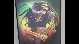 Bob Marley Eternamente - Quadro 3D Holografico 30cm X 40cm