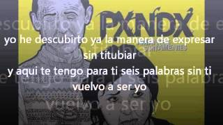 """PANDA """"Tus Palabras Punzocortantes"""" (letra)"""