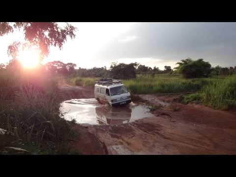 Road from Juba to Yei in South Sudan Africa 18