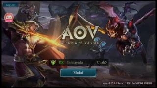Live Streaming - AoV Garena Indonesia