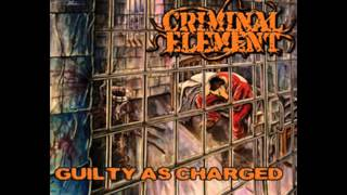 CRIMINAL ELEMENT - Snitch Bitch Homicide