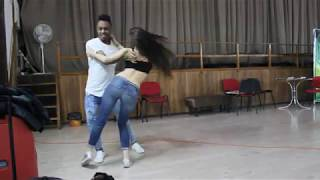 Ed Sheeran Perfect.  Yuniert & Galina  Bachata Fusion Dips and Tricks Training time Z'n'B fest 2018