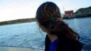 En Suecia navegando con Superwoman
