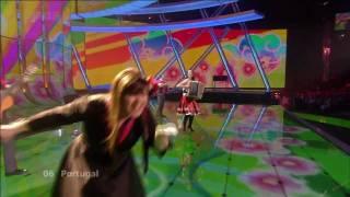 Eurovision Song Contest |2009| - Portugal - Flor de Lis - Todas As Ruas Do Amor - Karaoke
