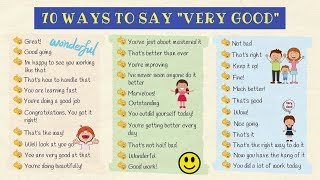 70 Different Ways To Say
