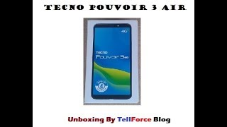 Tecno Pouvoir 3 Air Price In Kenya, Full Specs - August 12, 2019 - LURAM