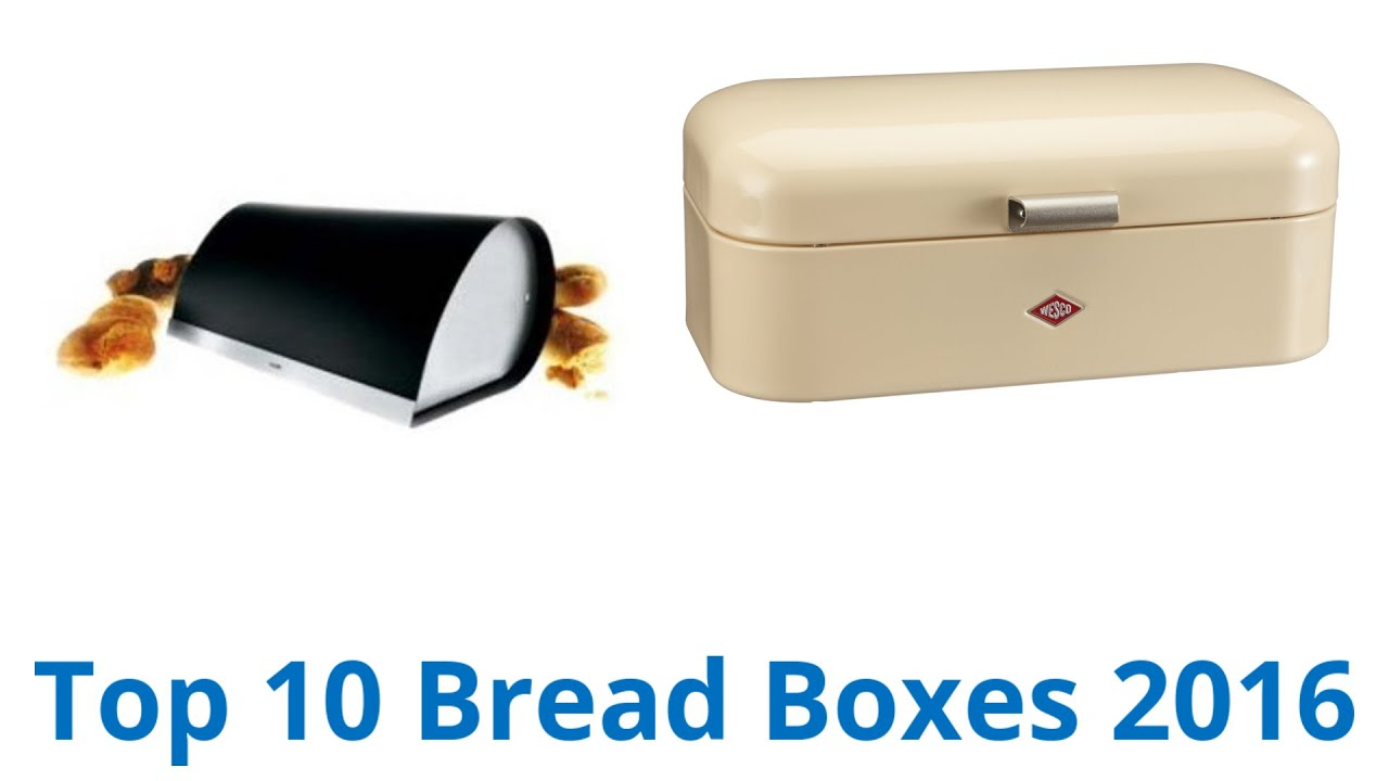 10 Best Bread Boxes 2016