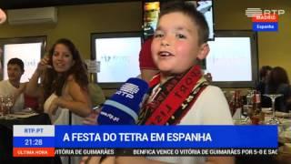 Festa tetra - Madrid - Imagens RTP