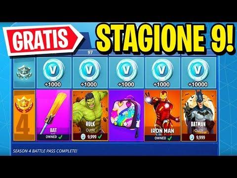 Download Video Vi REGALO Il PASS BATTAGLIA Della STAGIONE 9! *GRATIS* - Fortnite ITA
