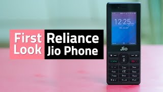 Reliance Jio Phone First Look | Camera, Wi-Fi, Voice Assistant, and More