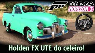 Holden FX UTE do celeiro! + Top Speed Camaro ZL1 2017 | Forza Horizon 3 + G920