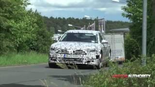 2018 Audi A8 spy video