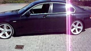 BMW E65 21 zoll BLACK DEVIL