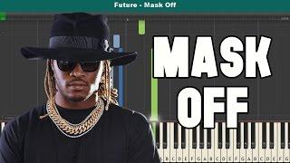 Mask Off Piano Tutorial - Free Sheet Music (Future)