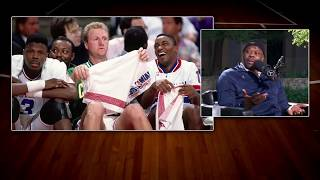 Georgetown HC Patrick Ewing on Larry Bird's Trash Talking | The Dan Patrick Show | 3/30/18