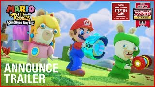 Mario + Rabbids Kingdom Battle: E3 2017 Announcement Trailer | Ubisoft [US]