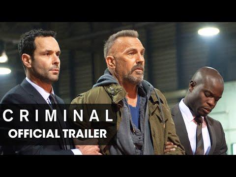 "Criminal (2016 Movie) Official Trailer – ""Remember"""