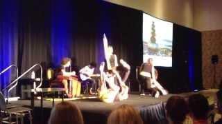 Amazing improvisation Pilates & Music: Polestar Pilates vs Virgins Family Band