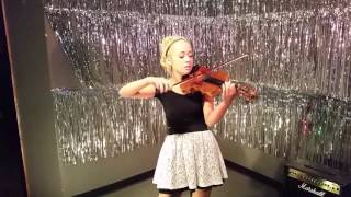 Cough Syrup - Young the Giant, cover - Serena Harnack, violin/vocal