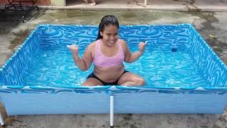 Um dia de muito sol e piscina 😎😎😎😎