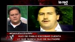 """Hijo de Pablo Escobar habla sobre su padre y la serie """"El patrón del mal"""""""