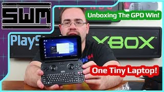 GPD Win Unboxing! Tiny Windows 10 Laptop!