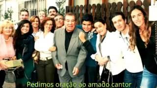Cantor Luiz de Carvalho, está na UTI