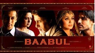 Kehta Hai Baabul Song | Baabul Movie | Amitabh Bachchan, Salman Khan, Rani Mukherjee and Others