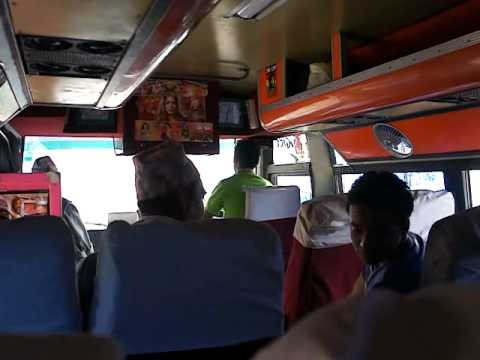 Local Bus from Changu Narayan to Kathmandu – Nepal in 2011