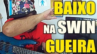 BAIXO NA SWINGUEIRA | LÉO SANTANA - VAI DAR PT(BASS COVER)