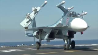 The Sukhoi Su-33 in action in Syria