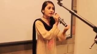 Faded | Afreen | Channa Mereya by Maheen Zehra live at iqra university