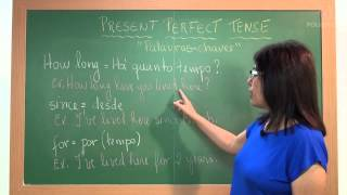 Inglês - Aula 04 - Present Perfect Tense:  Palavras - chaves III