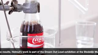 Helmut Smits turns Coca Cola back into water